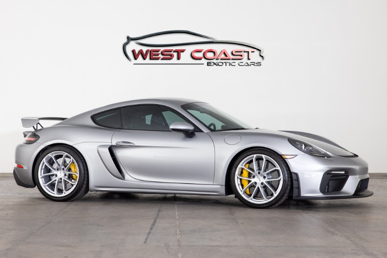 Used 2020 Porsche Cayman GT4 only 560 miles! for sale $143,190 at West Coast Exotic Cars in Murrieta CA